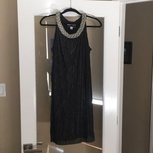 NEW! Beautiful Black and silver dress